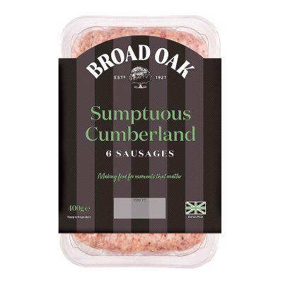 Sumptuous Cumberland Sausages (400g)