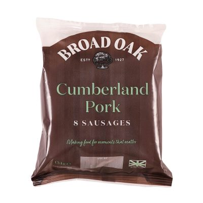 Cumberland Pork Sausages (400g)