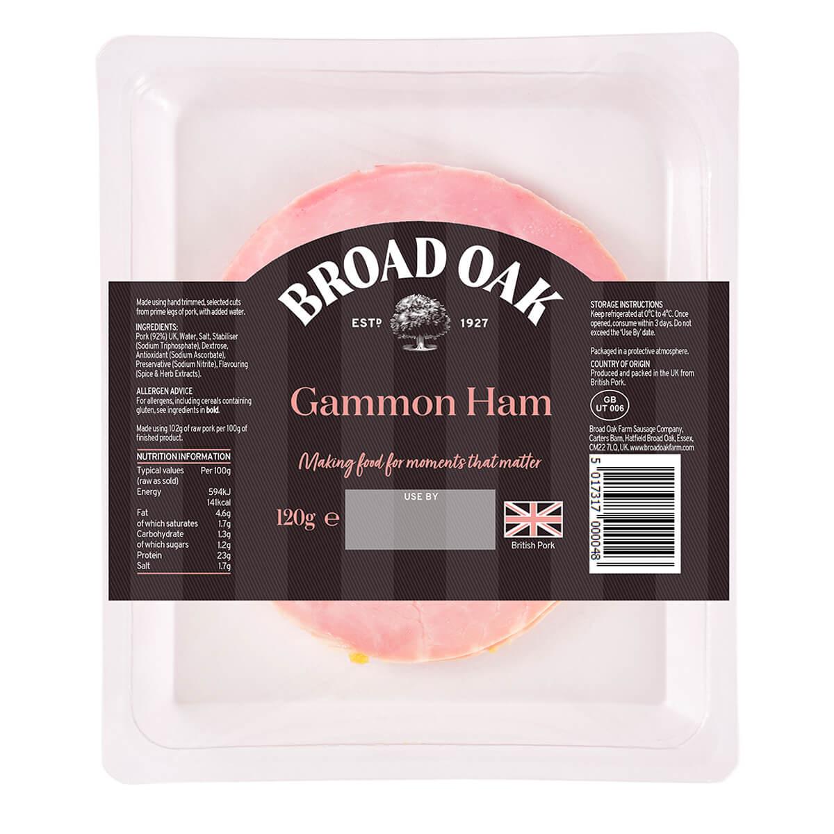 Cooked Gammon Ham (120g)