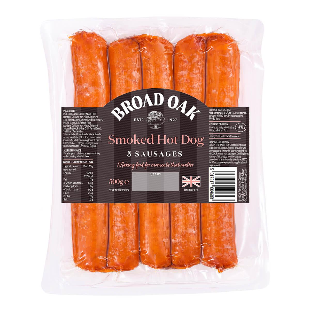 British Hot Dogs (240g)